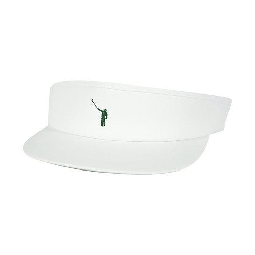 NLU Tour Visor | White w/ Green Logo