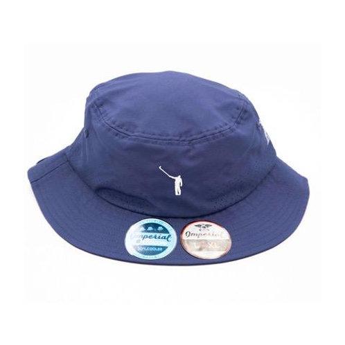 NLU Bucket Hat w/ Strap | Navy