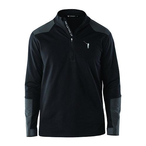 NLU Technical Quarter Zip | Black