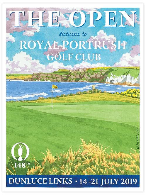 Royal Portrush - 148th Open Print