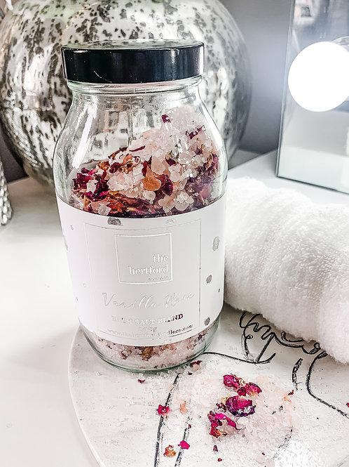 Vanilla Rose Bath Salt Blend