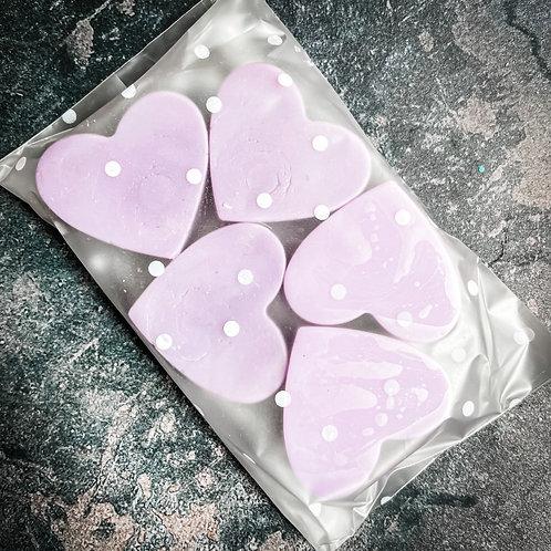 Black Fig & Vetiver Heart Wax Melts