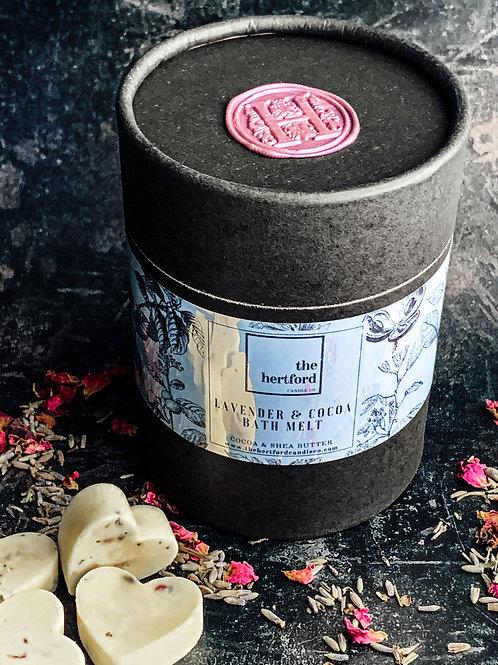 Lavender & Cocoa Butter Bath Melts