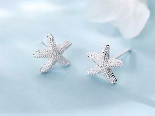 Modern Cute Starfish Earrings