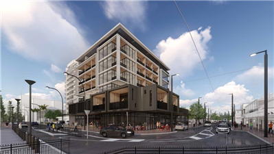 New Colley Terrace luxury hotel development construction to commence