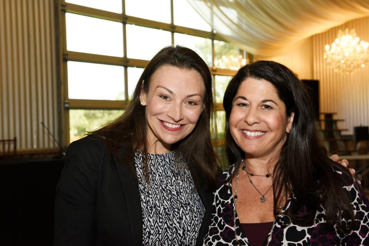 Keynote speaker Nikki Fried and the The Firefly Group's Chief Illuminator Stacy Weller Ranieri.