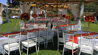 Enkishon-Gardens-Wedding-Venue-Orange-Decor-4