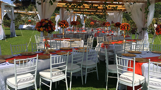 Enkishon-Gardens-Wedding-Venue-Orange-Decor-2