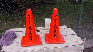 Survey Caution Cones_3TAAB