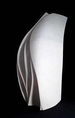 Regina Schnersch, Segel, 2019, Marmor