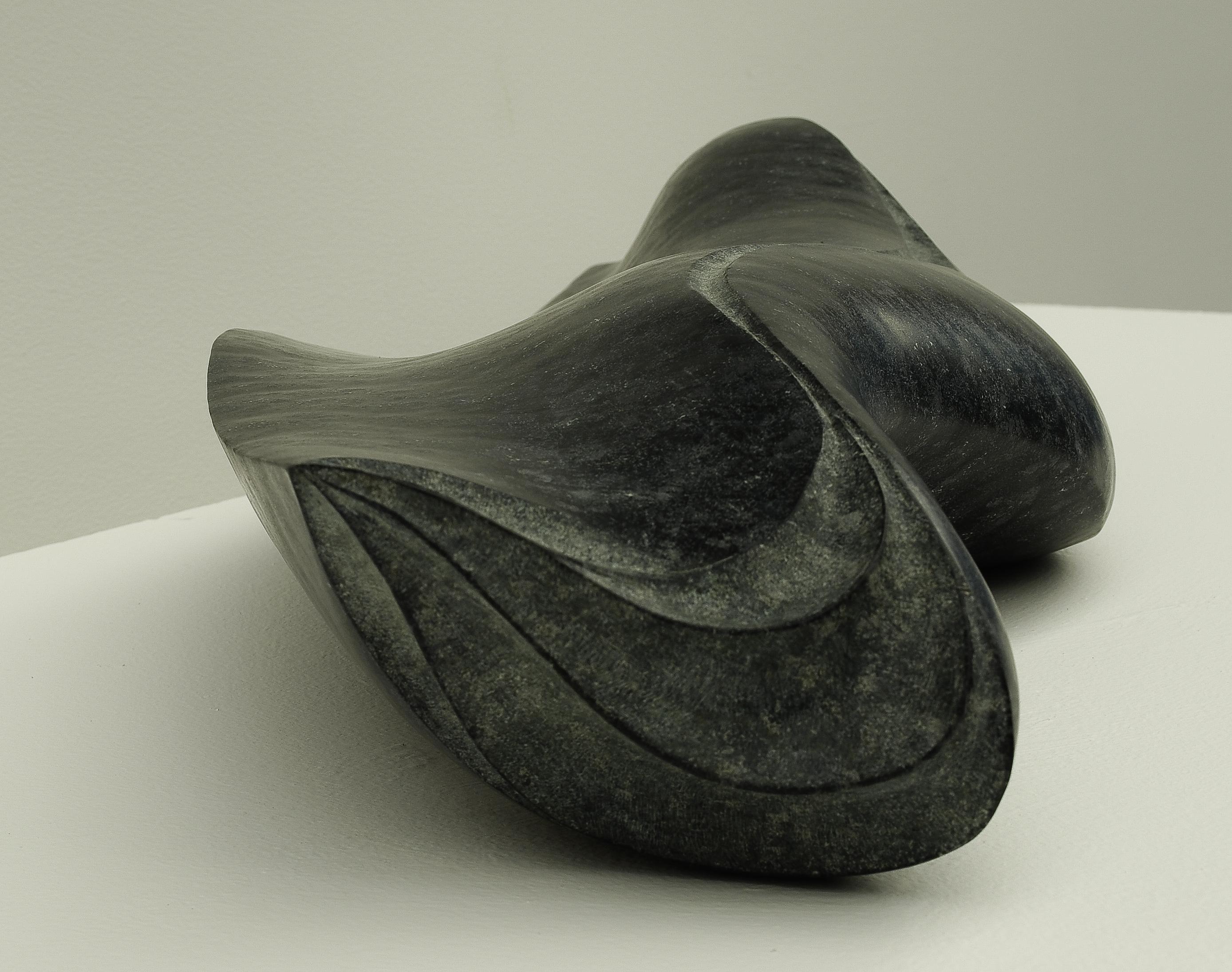 Regina Schnersch, Mixed Feelings , 2015, Diabas, 66 x 25 x 13 cm (1)