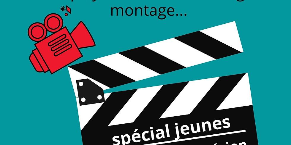 """MasterClass Cinéma """"spécial jeunes"""" 18h de stage sur 3 jours"""