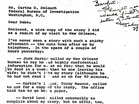 Was The QUICK Article About A Homosexual Conspiracy Written By Jim Garrison? (Part One)