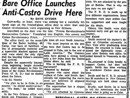 Was Sergio Arcacha Smith Involved in the JFK Assassination?