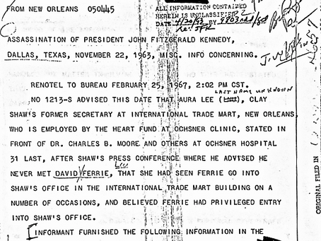 Did Lee Harvey Oswald Use Jack Ruby As a Job Reference?