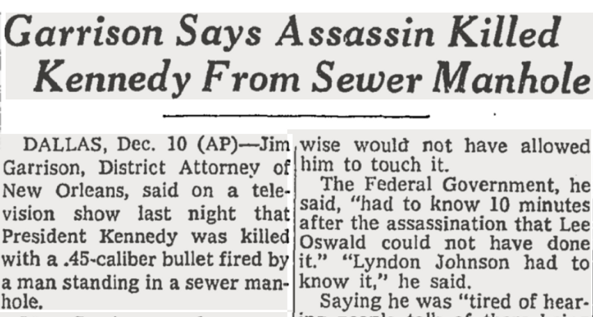 48. Headline about assassin killed Kenne