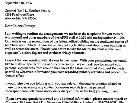 James DiEugenio's Lame Excuses for Fletcher Prouty