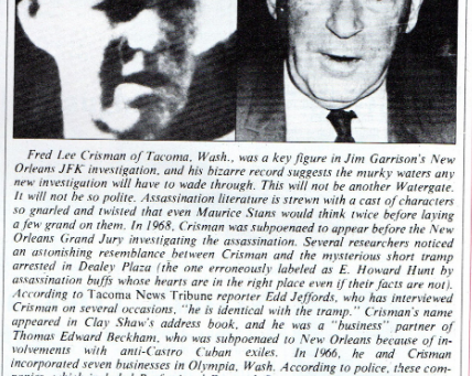 Was Fred Crisman Behind the JFK Assassination?