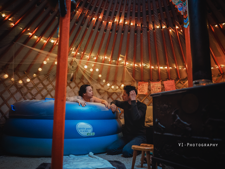 De geboorte van Vos - Van yurt naar ziekenhuis