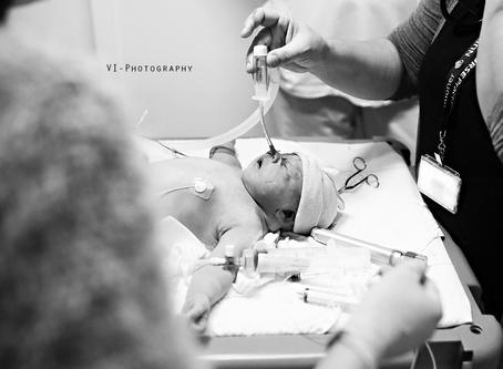 De geboorte van Rylee - Schouder dystocie en reanimatie