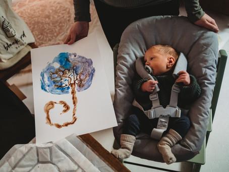 Een placenta print - Een blijvende herinnering