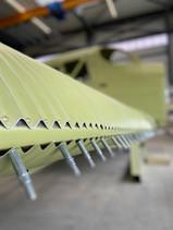 Flügel Junkers F13 Replika, Produktion Kaelin Aero