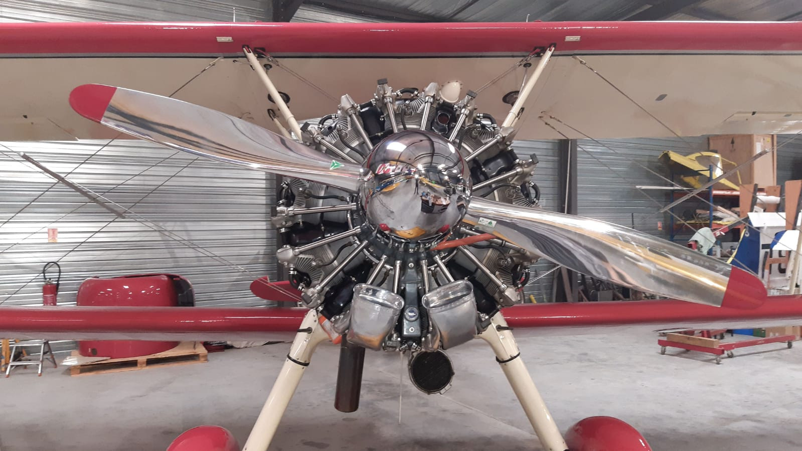 Stearman after annual inspection