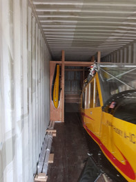 safe in the container