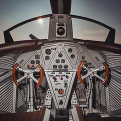 Junkers F13 Replika Cockpit