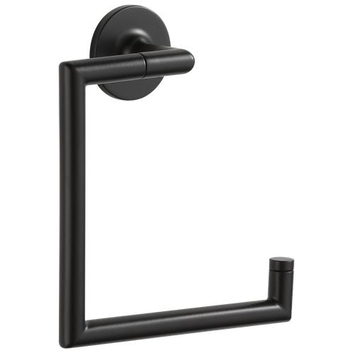 Odin Towel Ring in Matte Black
