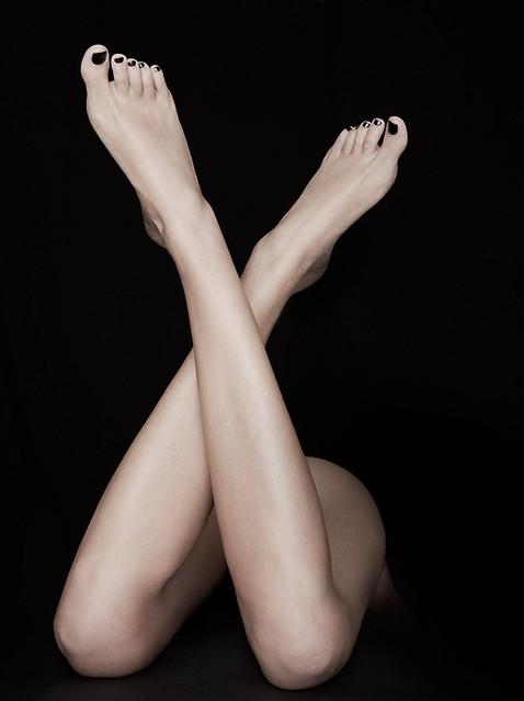 détail jambes