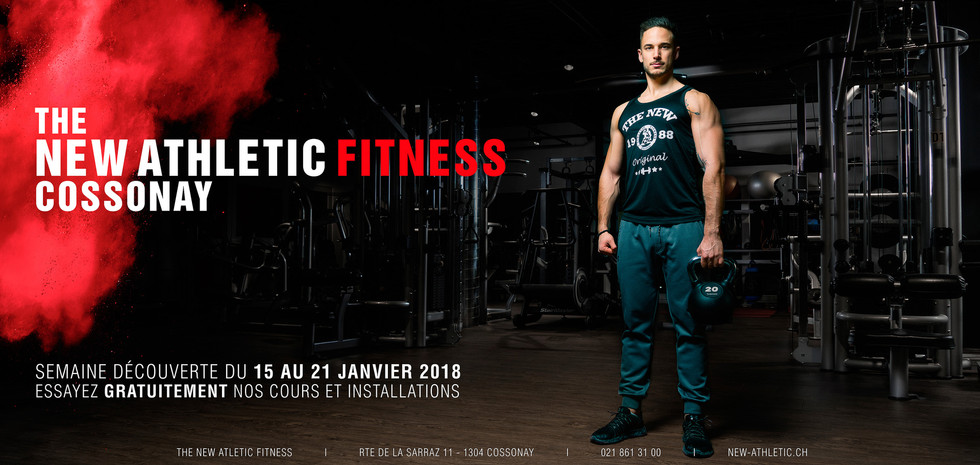 The new Athletic Fitness