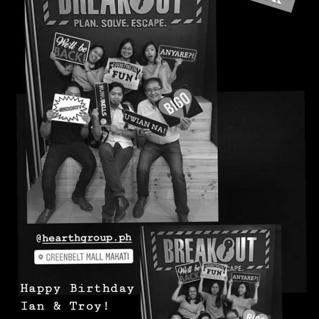 Jun 2019   First Hearth Break!