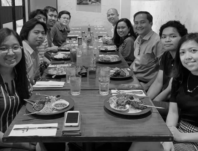 Jul 2019   Lunch with Boysen