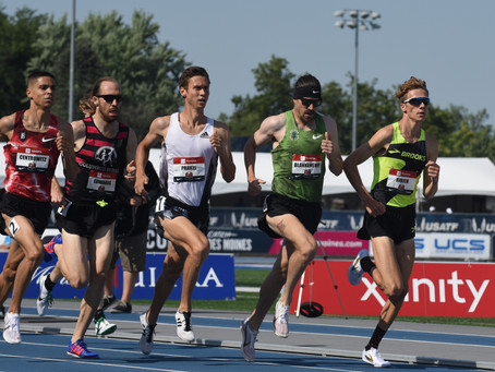 Blankenship, Trouard to compete at USATF 5K Championships