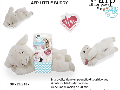 "PELUCHE CALMANTE ""LITTLE BUDDY"", OVEJA HEART BEAT – ALL FOR PAWS"