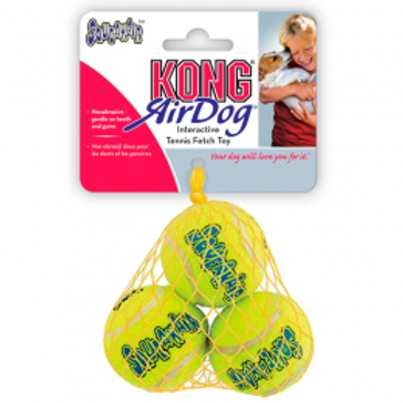 KONG SQUEAK AIR - SMALL - PACK 3 PELOTAS
