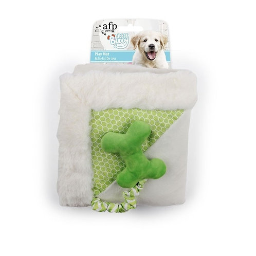 MANTITA PARA PERROS LITTLE BUDDY PLAY MAT GREEN 50X50CM AFP