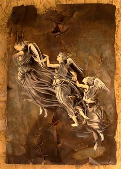 La natività mistica (detail)