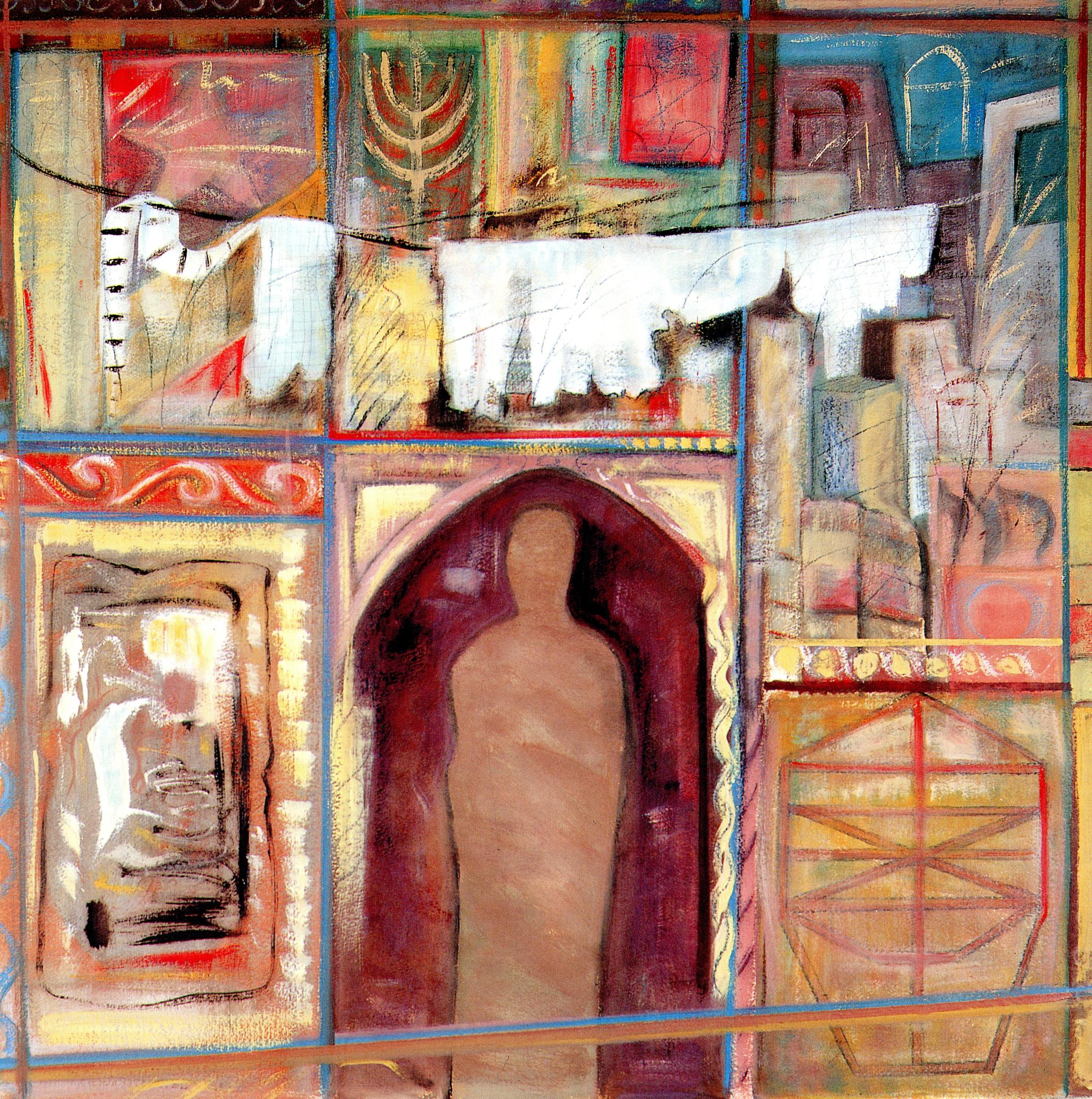 Samuel et Rebecca (illustratie van het boek uitgebracht door de Synagoge van Cavallon)