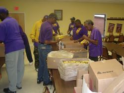 Holiday Fruit Distribution 2011