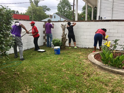 Community Clean Up @ Holy Family Learning Center