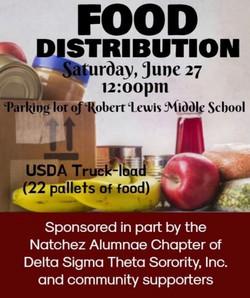NASD/DST Food Distribution