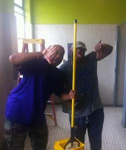 2013 Back to School Beautification Project (Robert Lewis Magnet)