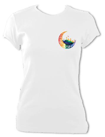 """""""Crescent Logo"""" Ladies T-Shirt"""