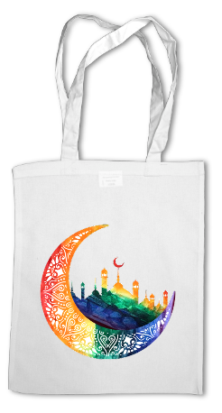 """Crescent Logo"" Tote Bag"