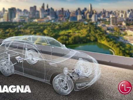 LG y Magna se unen para producir vehículos eléctricos