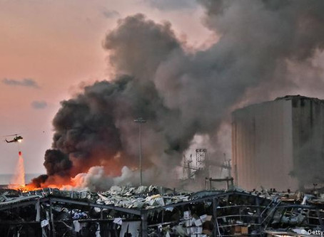 Conmoción mundial por dantescas explosiones en Beirut