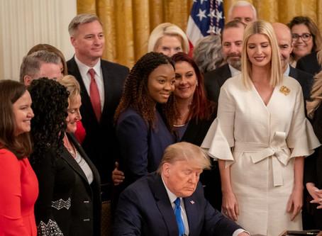 El presidente Trump está luchando contra el flagelo de la trata de personas