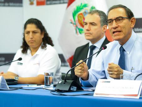 Presidente Vizcarra: El Gobierno y autoridades de Madre de Dios estamos comprometidos por el progres